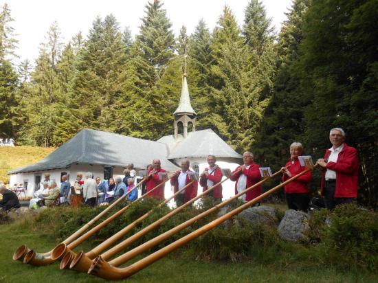 2015- Messe à Ermitage Frère Joseph
