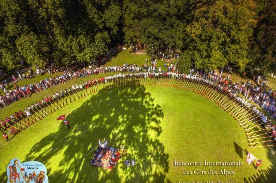 2018- MUNSTER  Festival international de cors es Alpes
